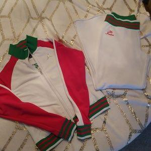 Air Jordan jogging suit